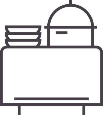 Icon Buffet für Partyservice
